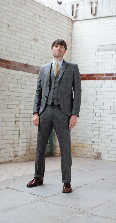 Tweed suit