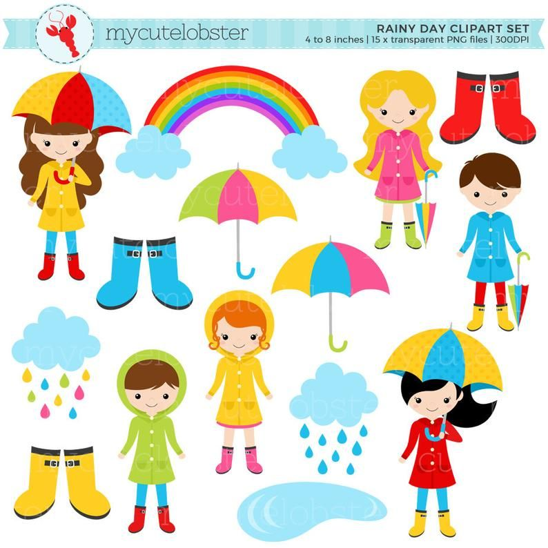 23+ Rainy day clipart png information