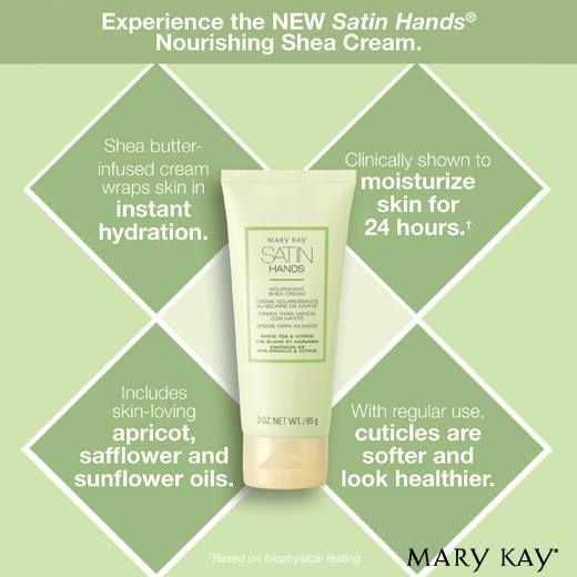 Mary Kay Satin Hands hand cream! in 2020   Mary kay satin