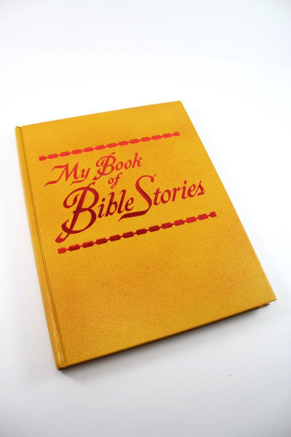 My Book of Bible Stories, 1978 edition, first printing