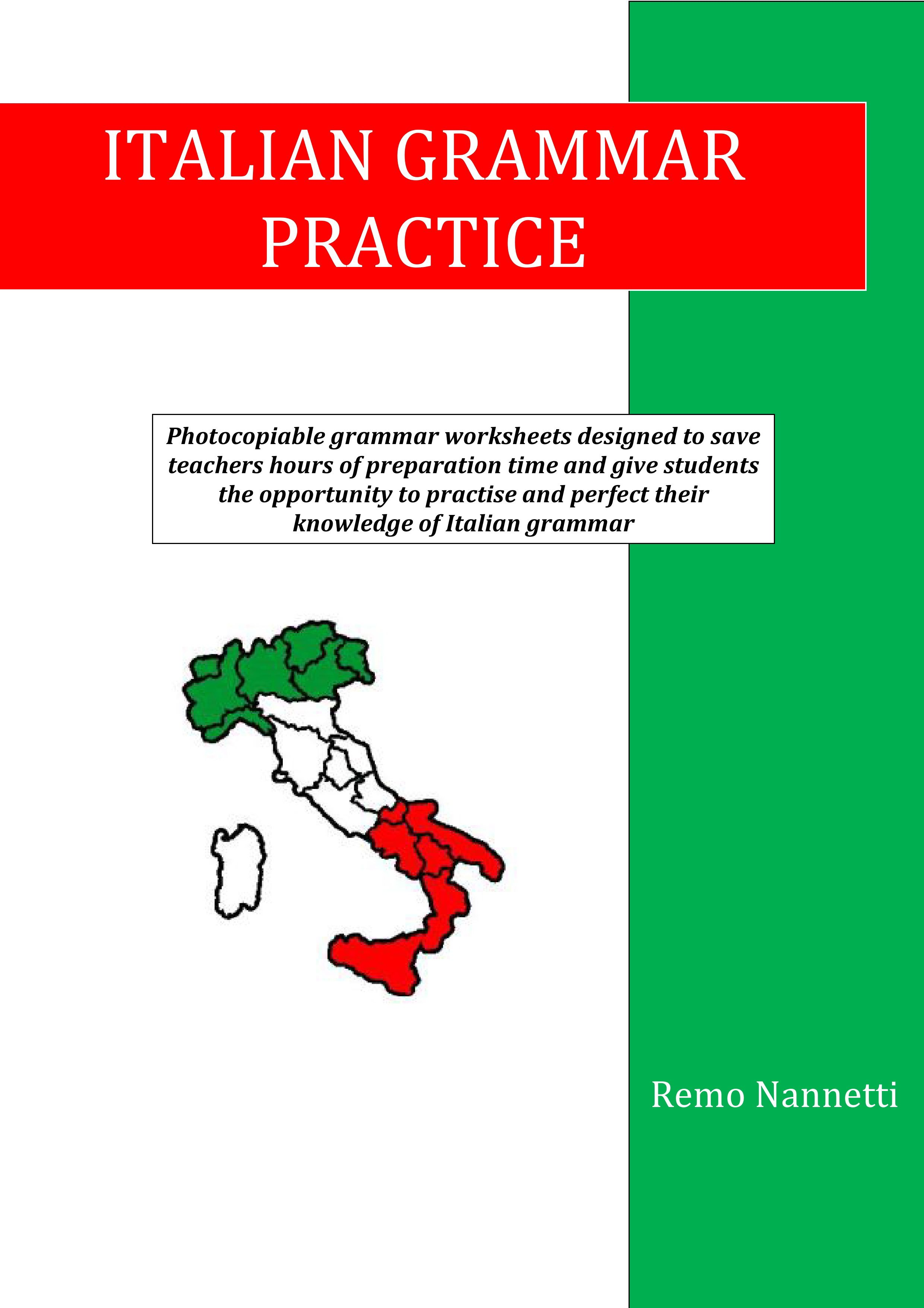 Italian Grammar And Vocabulary Exercises And Activities