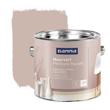 Gamma Gamma Muurverf Mat Nr 052 Interieur 2 5 Liter Kopen Muurverf Kleur Muurverf Muurverf Kleuren Slaapkamer Verven