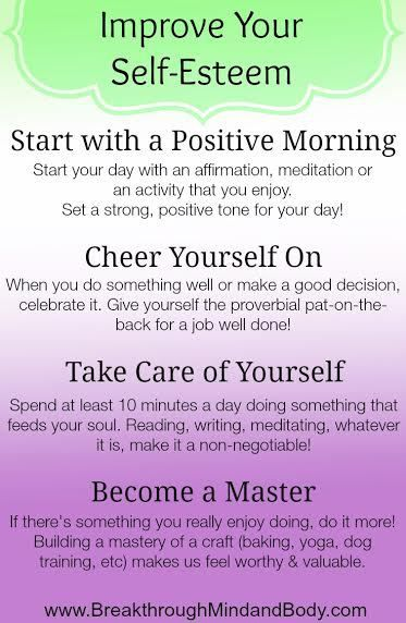 How to raise your confidence and self esteem