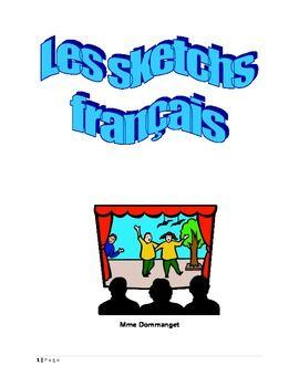 15 sketchs pour votre classe de fran ais students core french and rh pinterest com Cute French Clip Art French Symbol Clip Art