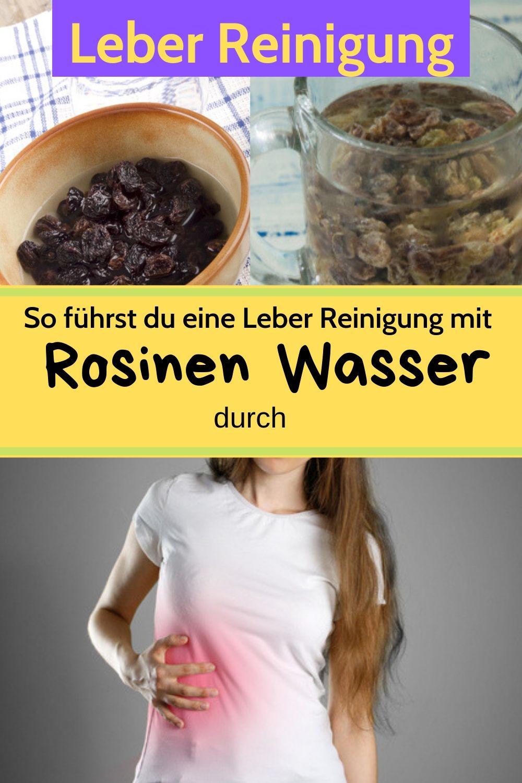 Rosinenwasser zur Gewichtsreduktion