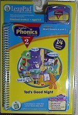 LeapPad Phonics Lesson 2 Tads Good Night Book /& Cartridge