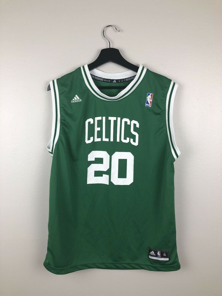 reputable site 85543 30239 Adidas NBA Boston Celtics Ray Allen Jersey Kids Size XL in ...