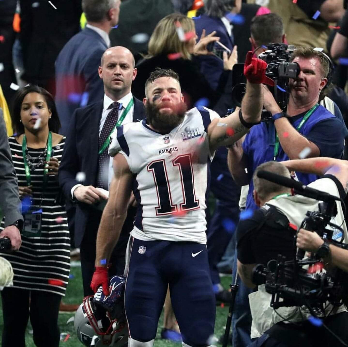 Edelman Superbowl53 Mvp With Images Julian Edelman Patriots Julian Edelman New England Patriots