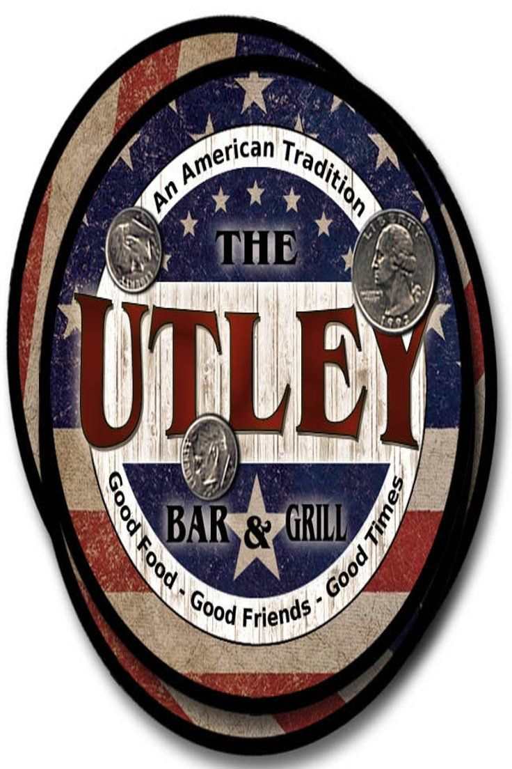 $ 16.95 | Utley Family Name Drink Coasters - 4pcs - Wine ...