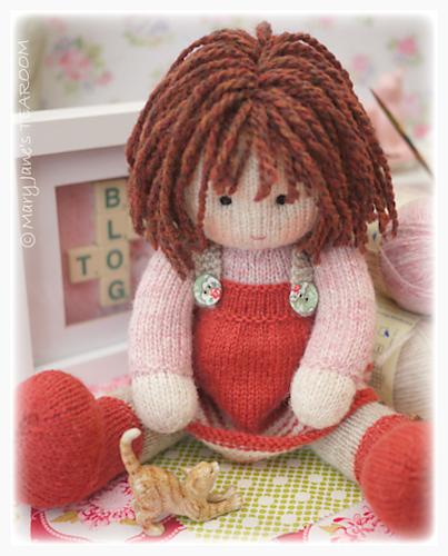 Chrystal A Tearoom Doll Pattern By Susan Hickson Ravelry Dolls