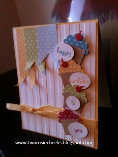 Stampin' Up! Birthday by Two Rosie Cheeks: Happy Birthday To You!