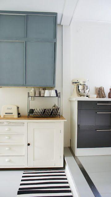 bicolour kitchen and cream accessories cuisine studio déco intérieure deco on kitchen interior accessories id=33956