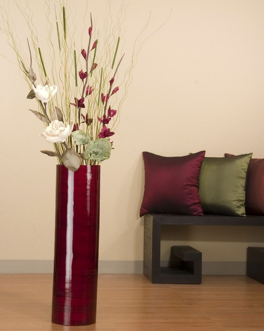 Tall Vases Home Decor Large Floor Vase With Flowers Decorations Pinterest