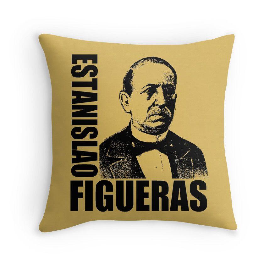 """""""Estanislao Figueras"""" Throw Pillows by IMPACTEES   Redbubble"""