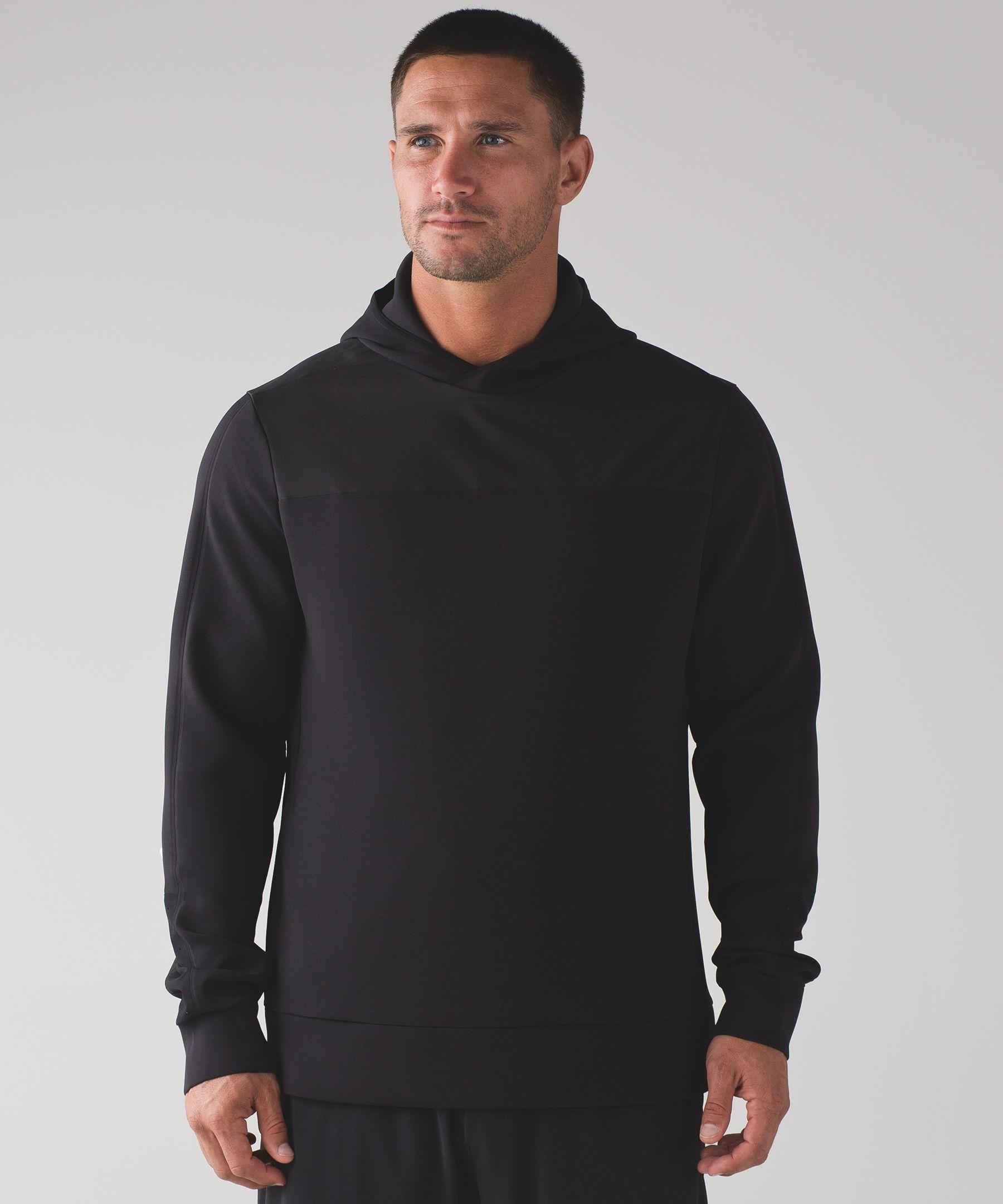 Men's Long Sleeve Hoodie - (Black, Size XXL) - License To Train Hoodie Long Sleeve - lululemon