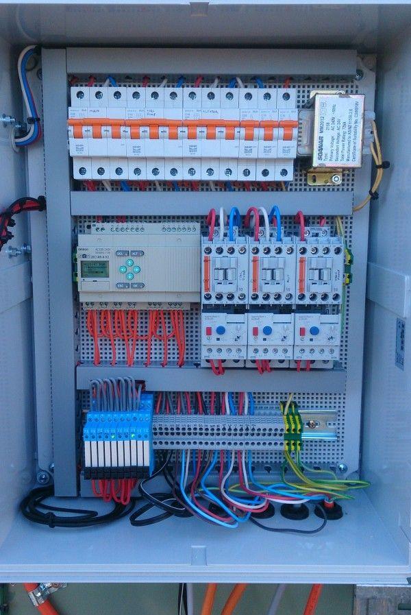 Custom Electrical Control Panels - Barry Brown & Sons | esquemas ...