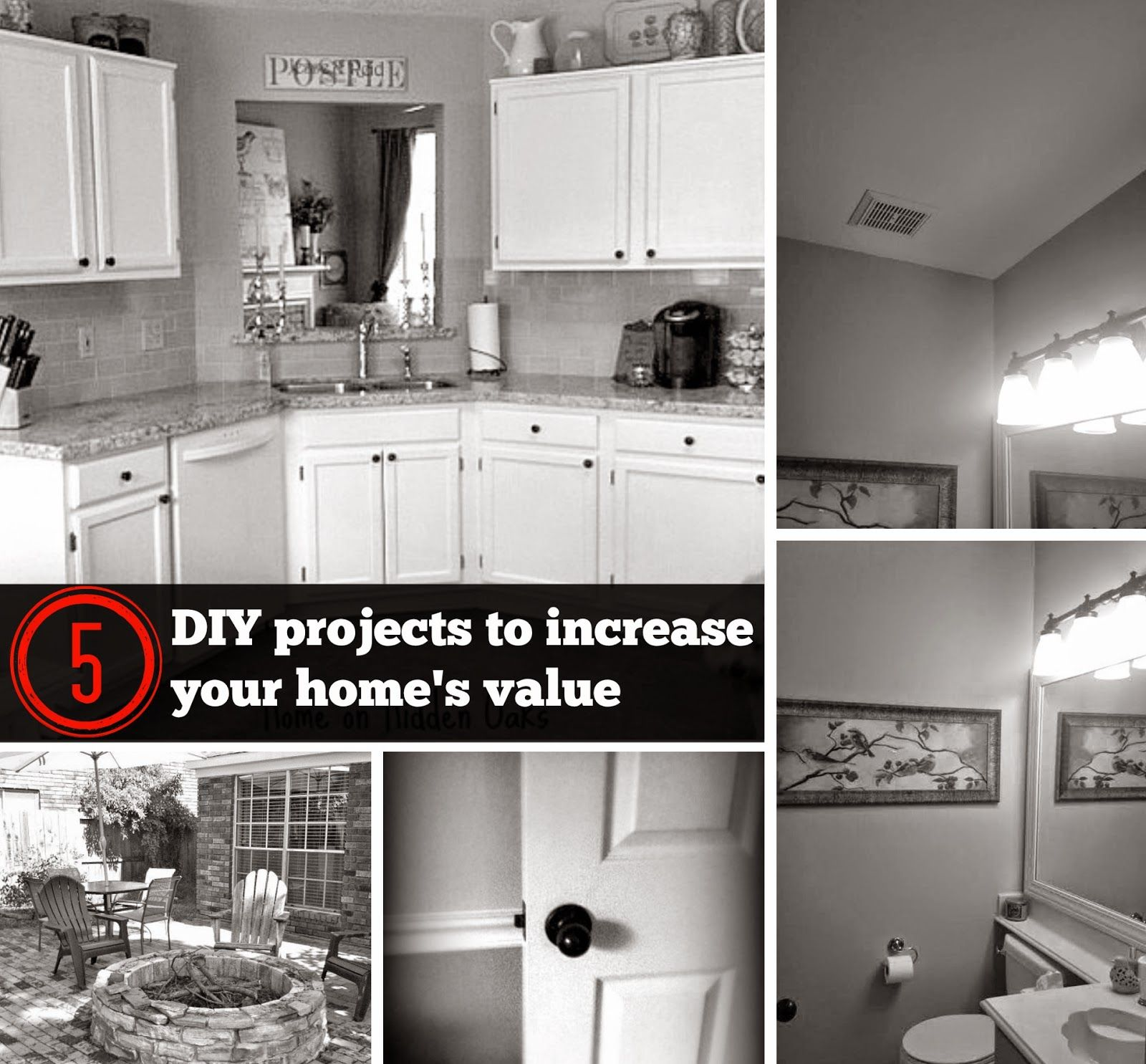 5 DIY Projects that Increase the Value of your Home