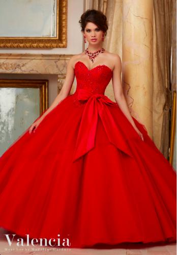 8715e4b72 vestidos de quinceañera rojos 2016 Mori Lee