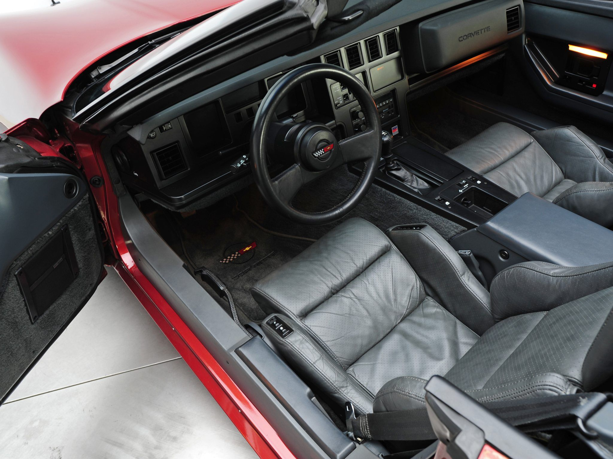 1986 C4 Corvette | C4 Corvettes | Corvette, Corvette c4