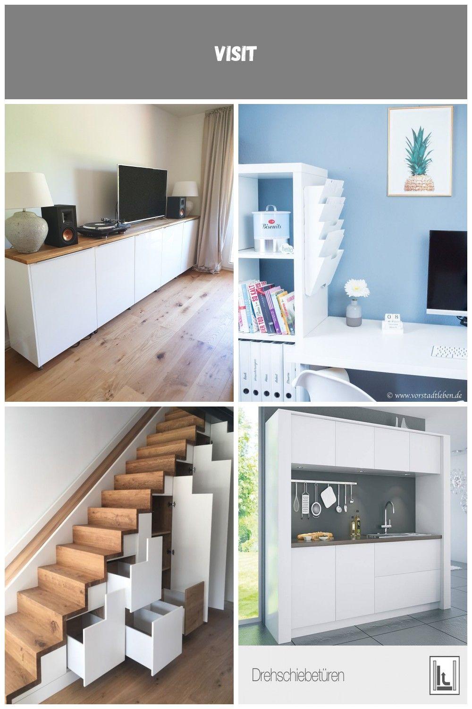 Hier Kommt Ein Ganz Einfacher Ikea Hack Das Sideboard Eignet Sich Perfekt Fur Das Wohnzimmer Das Arbeitszimmer Oder Den Flur Es Ist Ei Home Decor Home Decor