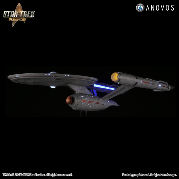 Star Trek Discovery Ncc 1701 U S S Enterprise Constitution Class Studio Scale Starship Filming Miniature Made To Order Starship Star Trek Enterprise Model
