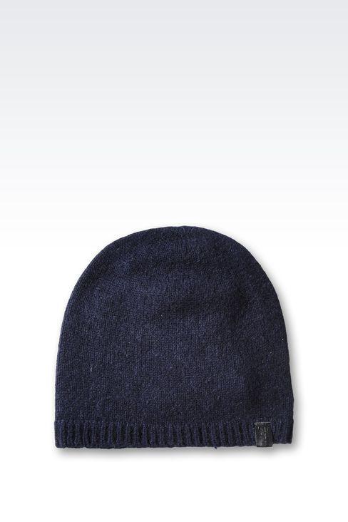 cashmere knit beanie - Black Emporio Armani 63yImj