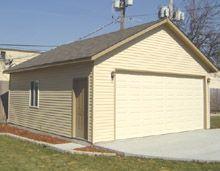 22x26 Gable Garage Cottage Garage Outdoor Structures