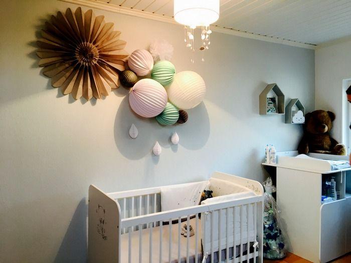 Lampions Kinderzimmer ~ 143 besten idées de décoration pour une chambre de bébé ou d
