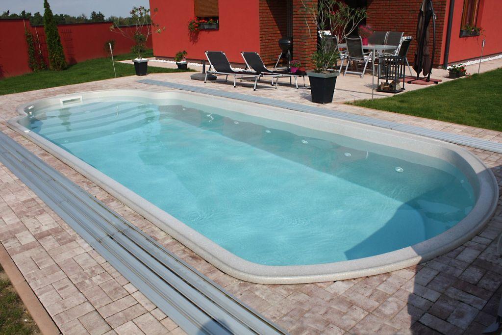 Laminátový bazén - Alexandrie