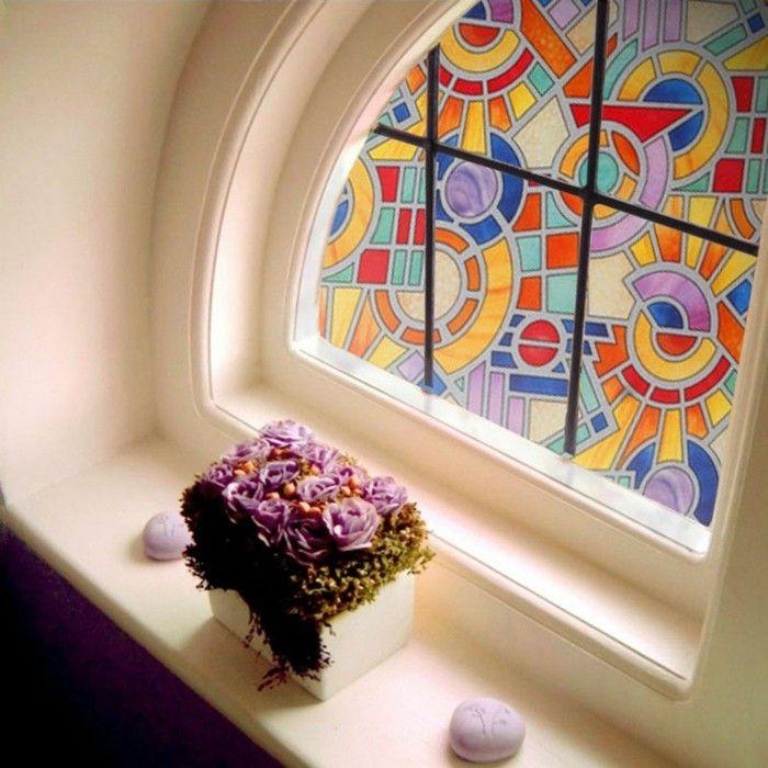 Stickers pour vitres pour décorer et pour préserver votre intimité ...