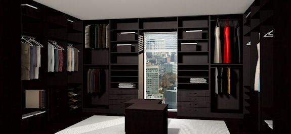 Articad Large Walk In Closet Design | Articad Closet Design Cad
