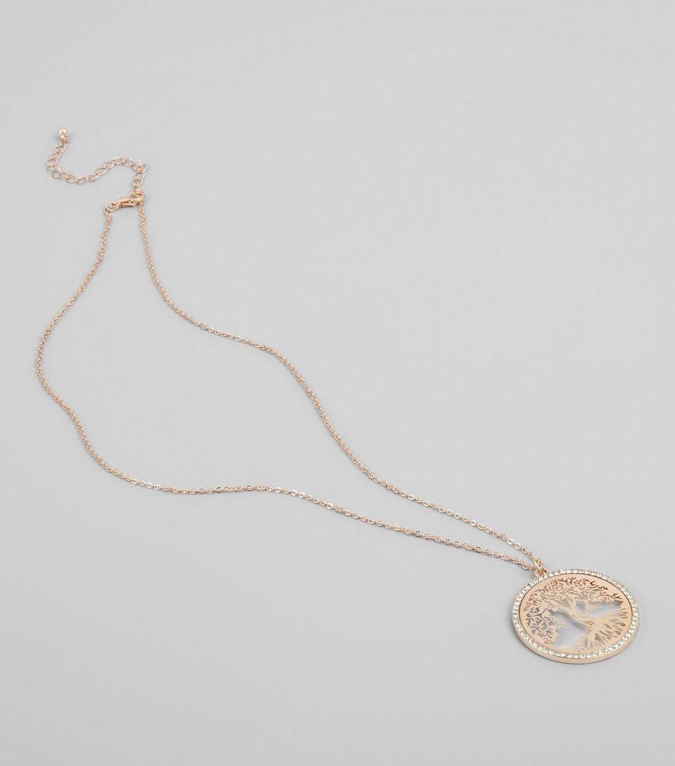 Rose Gold Filigree Tree Pendant | Tree pendant, Gold filigree and ...