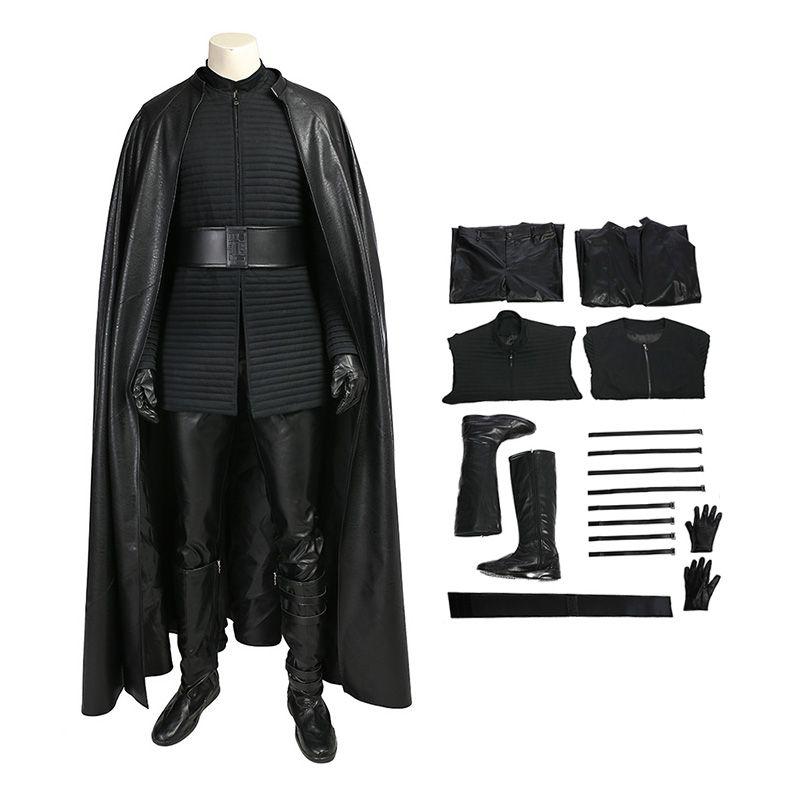 Star Wars 8 The Last Jedi Kylo Ren Costume Cosplay Deluxe Version Suit Ccosplay Com Kylo Ren Costumes Star Wars Costumes Last Jedi