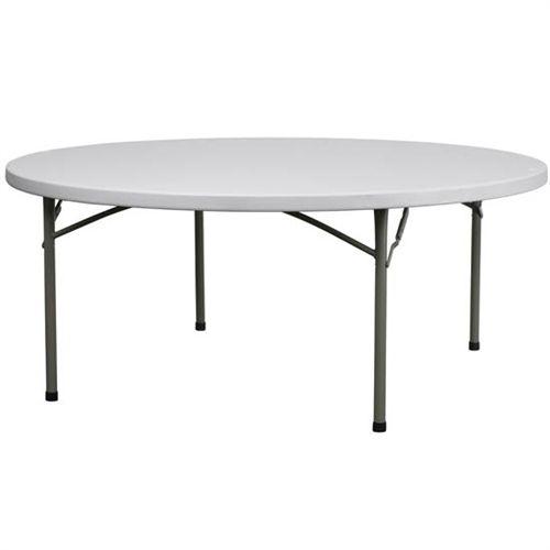 72 Round Tables Plastic 72 Inch Round Plastic Folding Table Folding Table Furniture Table