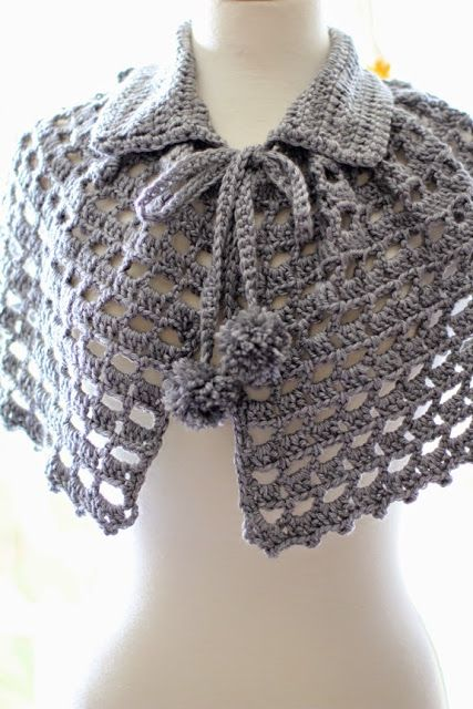 Mademoiselle Mermaid: Crochet Project : Mystical Cape by Red Heart ...