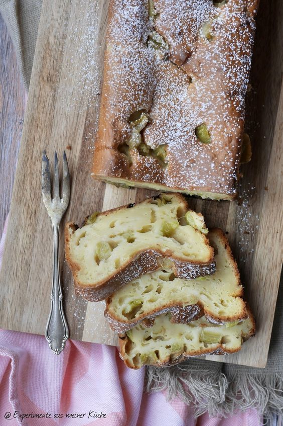 Rhabarber-Mandel-Kuchen Kuchen and Backen - experimente aus meiner küche