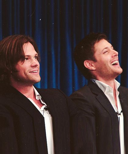 Jared and Jensen - two of the most gorgeous men I've ever laid eyes on