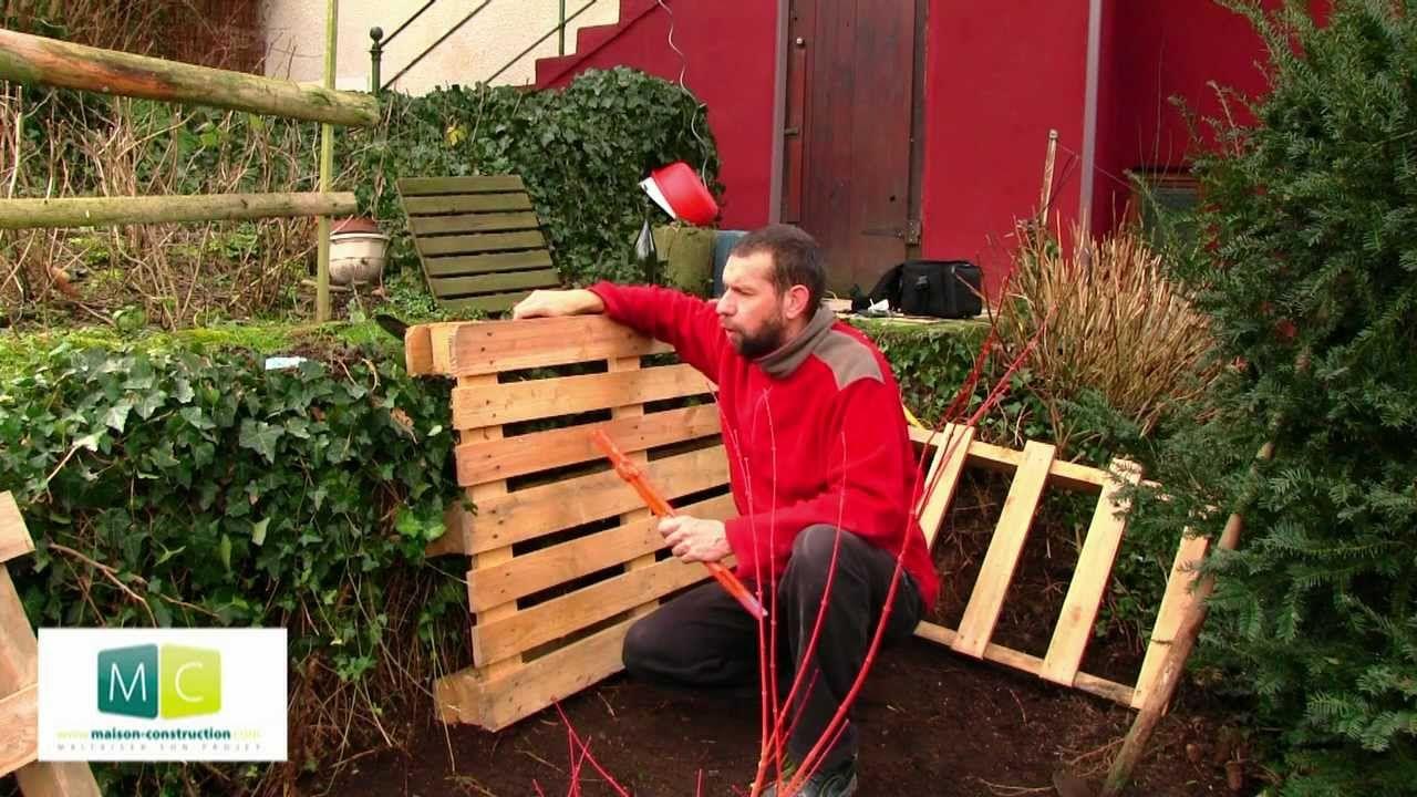 Fabriquer Un Composteur Avec Des Palettes composteur en palette, faire son compost - pallets composter