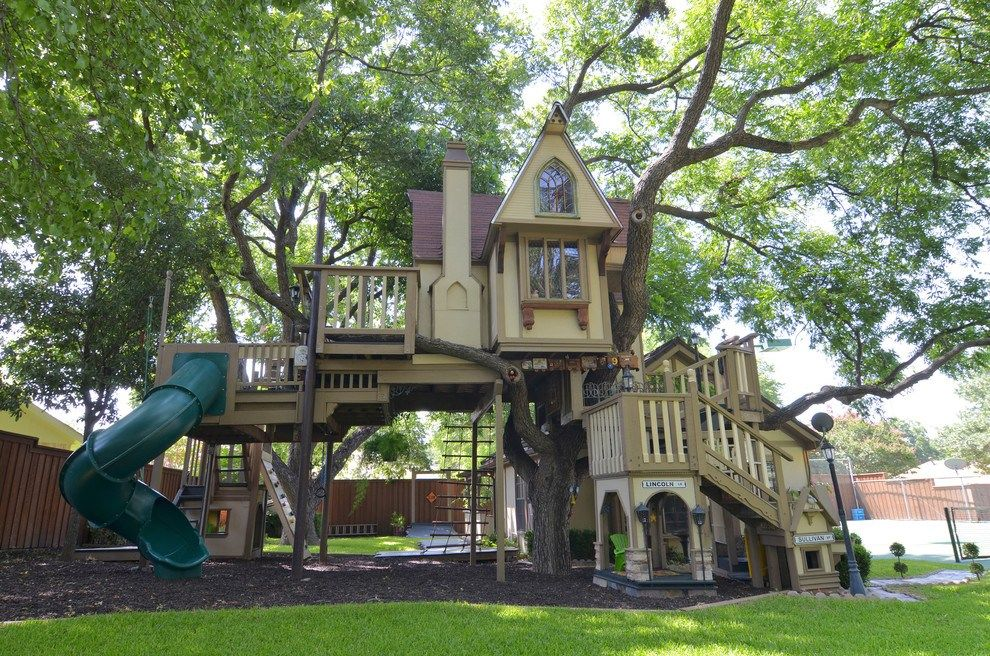 20 Of The Coolest Backyard Designs With Playgrounds | Play ...