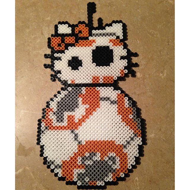 Star Wars Vii Crafts Perler Beads By Phiphi255 Bugelperlen