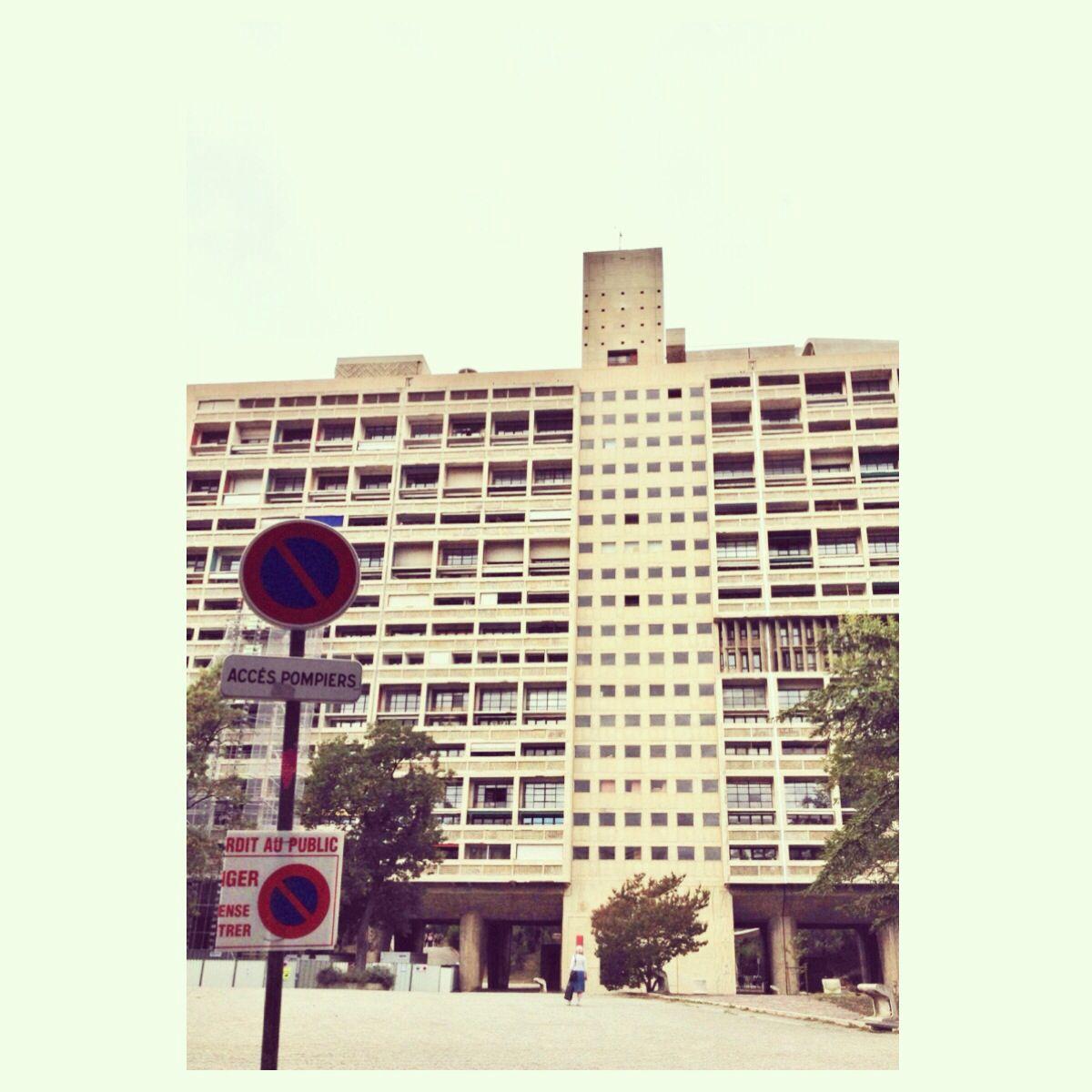 La Cité Radieuse Le Corbusier, #marseille #instagram