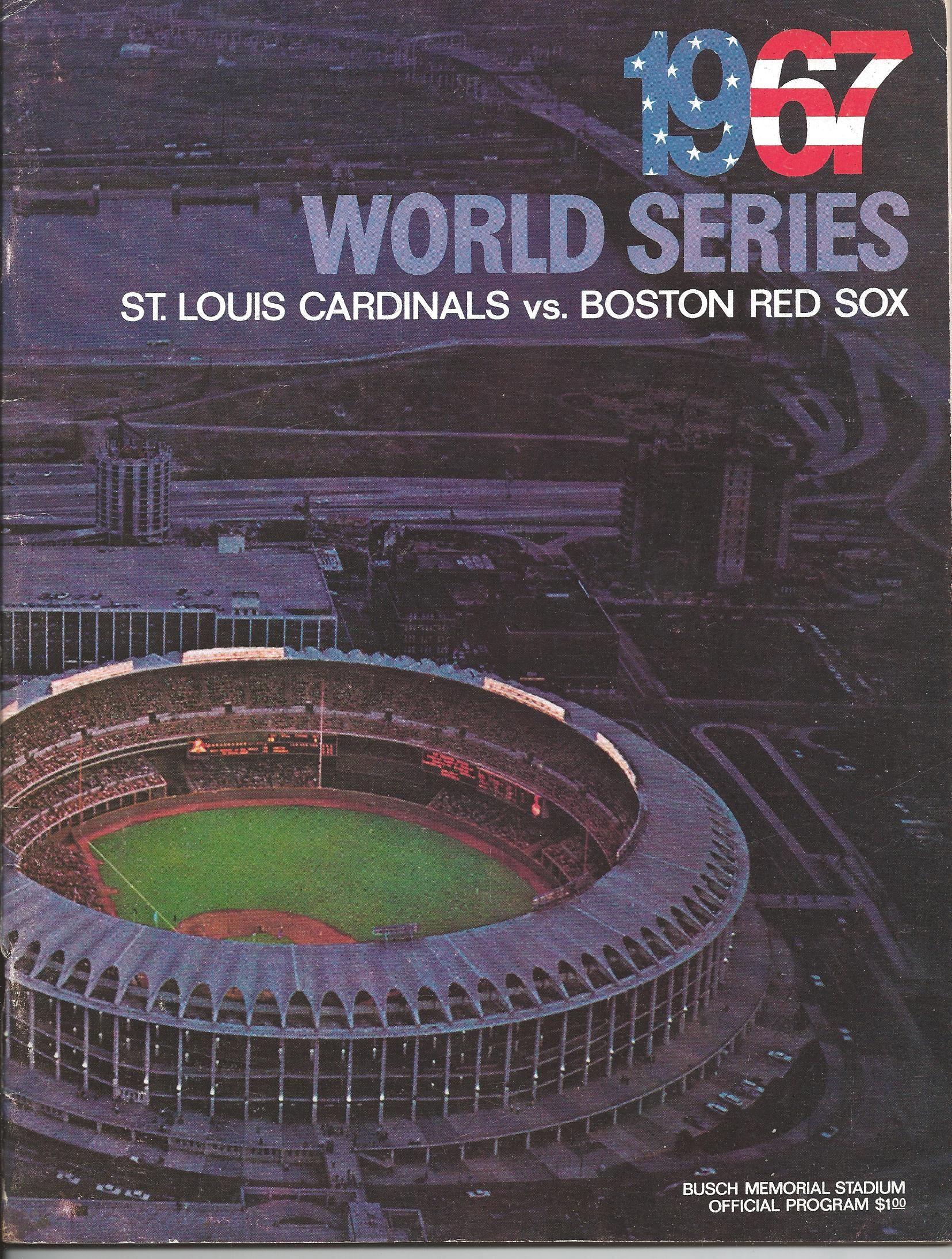 1967 World Series St Louis Cardinals 4 Boston Red Sox 3