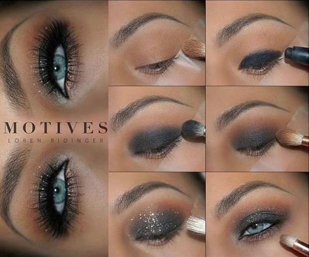 31 Eye Makeup Ideas For Blue Eyes Blue Eye Makeup Smokey Eye