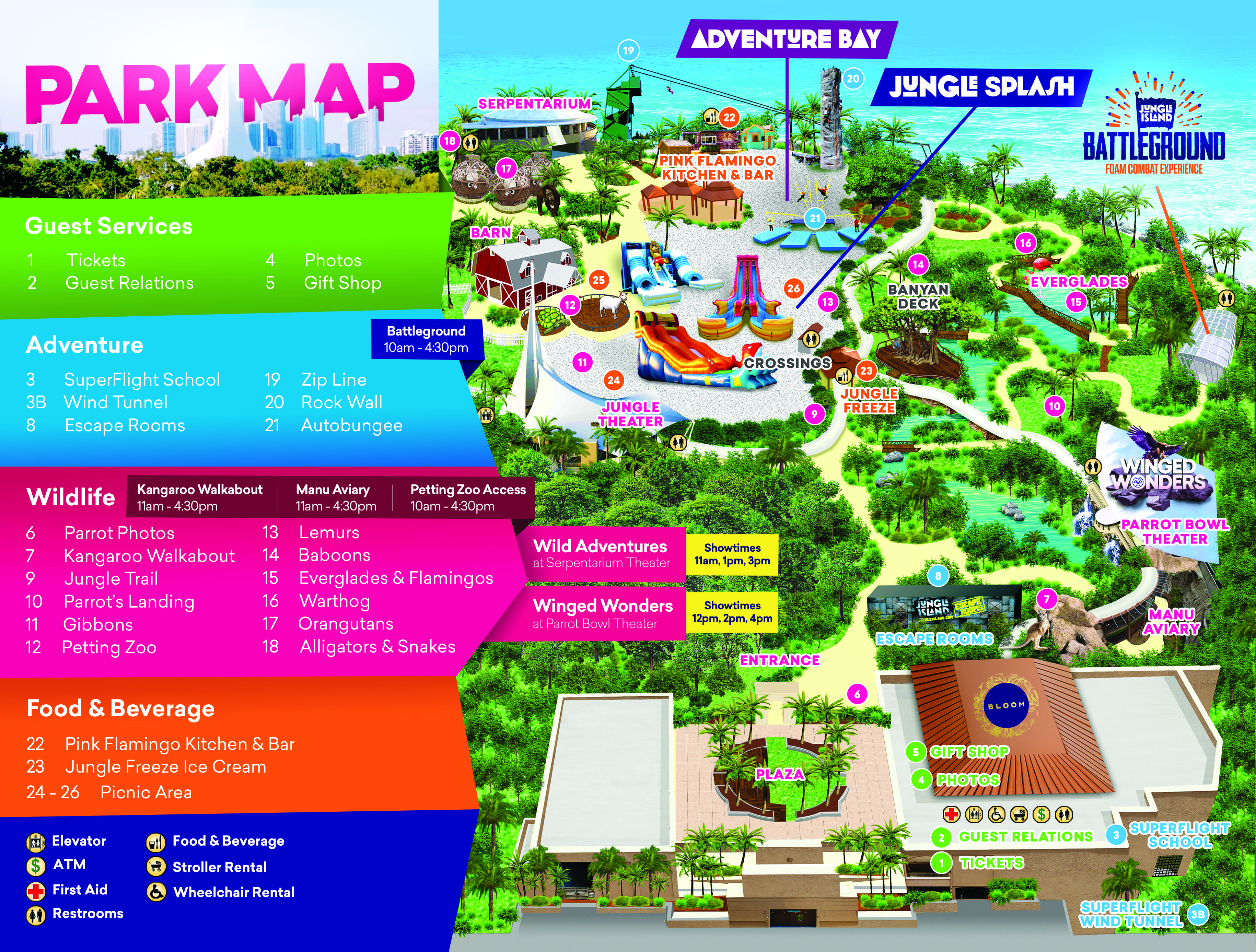 map out your next time you come to visit us in miami, fl