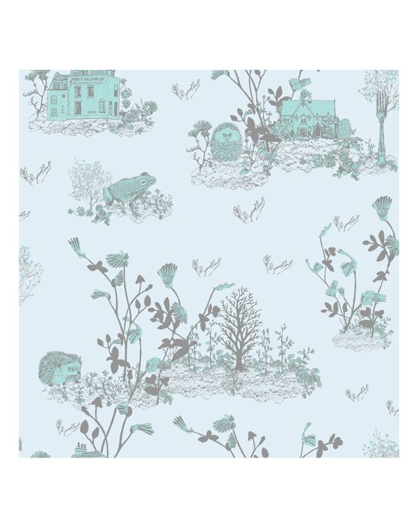Woodlands Wallpaper Samples By SianZeng On Etsy