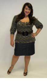 Plus Size; nice for work