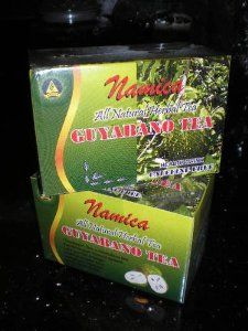 how to prepare guyabano tea leaves