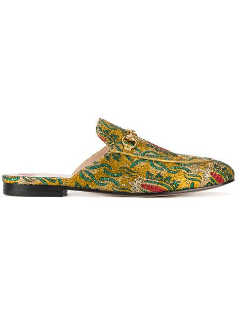 1f69697a741 Jacquard Princetown Slippers