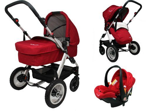 Twingo Classic 3 in 1 Full Travel System - Red http ...