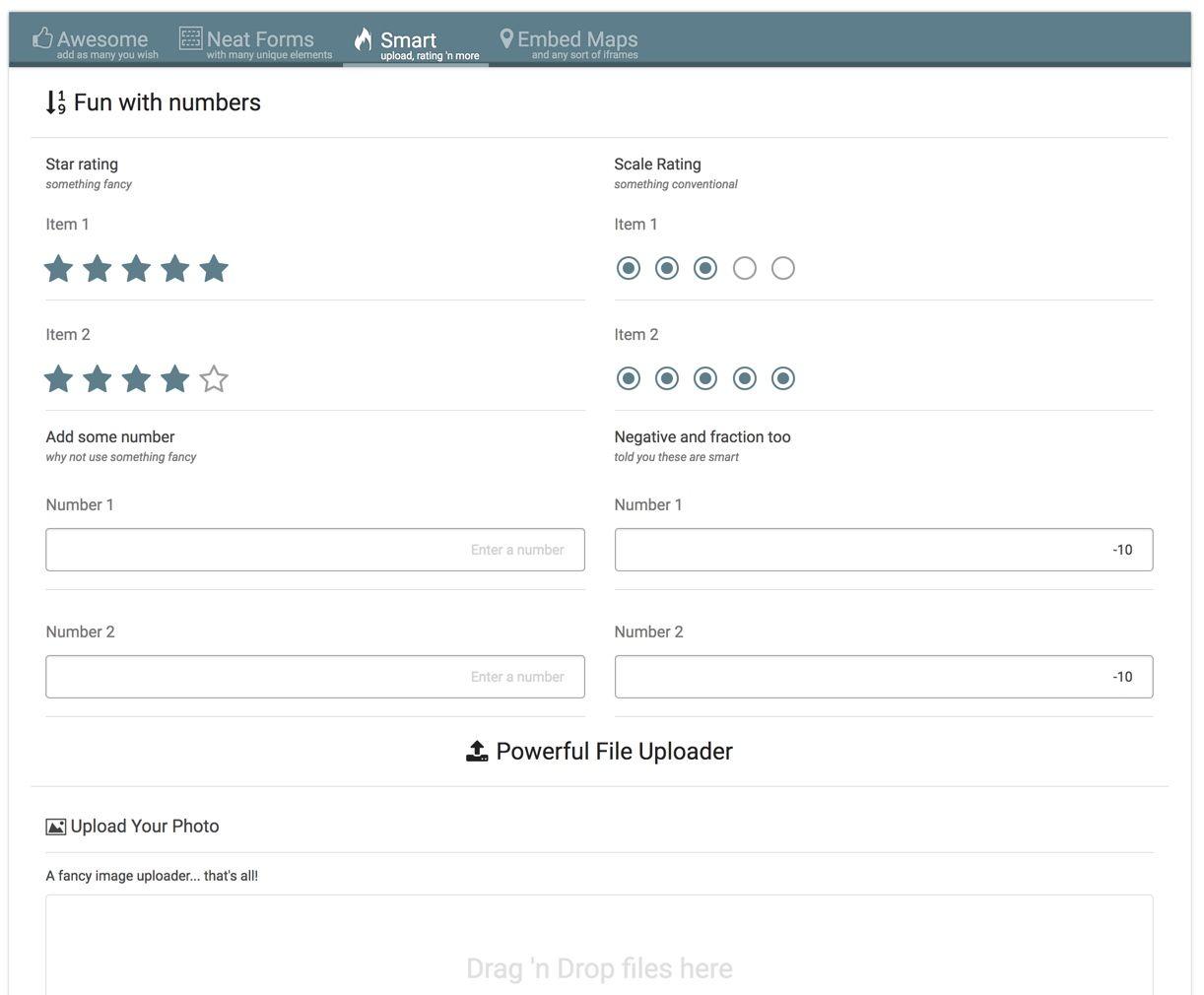 eForm WordPress Form Builder Form builder, Form design